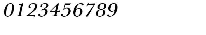 Baskerville Medium Extra Wide Oblique Font OTHER CHARS