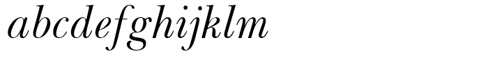 Baskerville WGL Italic Font LOWERCASE