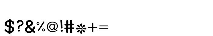 Basma Regular Font OTHER CHARS
