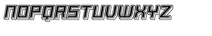Basset Seven Font LOWERCASE