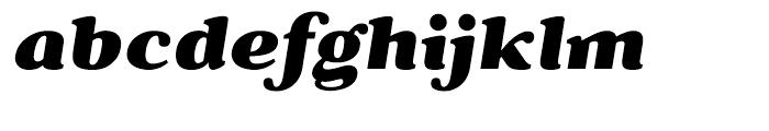 Battlefin Black Italic Font LOWERCASE