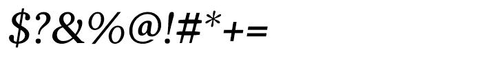 Battlefin Italic Font OTHER CHARS