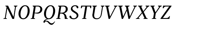 Battlefin Italic Font UPPERCASE