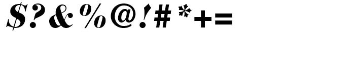 Bauer Bodoni Black Italic Font
