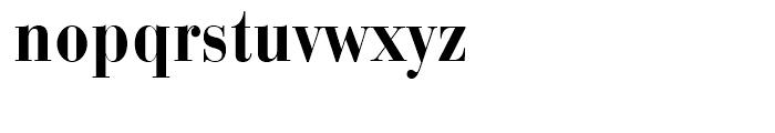 Bauer Bodoni Bold Condensed Font