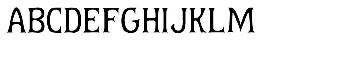 Baumfuss Two Font UPPERCASE