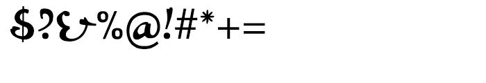 Bazar Regular Font OTHER CHARS