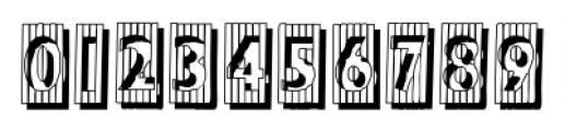 BadBaltimoreShadow Regular Font OTHER CHARS