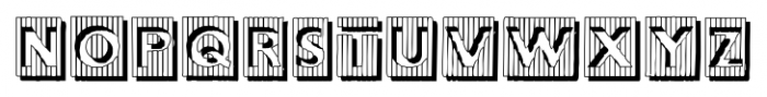 BadBaltimoreShadow Regular Font UPPERCASE