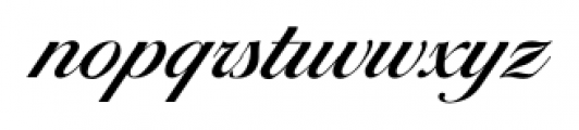 Ballantines Serial Medium Font LOWERCASE