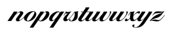 Ballantines Serial Xbold Font LOWERCASE