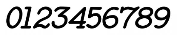 Baltimore Typewriter Italic Font OTHER CHARS