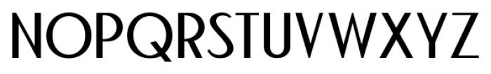 Bandoengsche Regular Font UPPERCASE