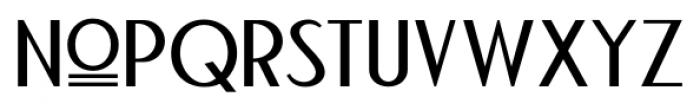 Bandoengsche Regular Font LOWERCASE