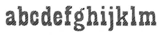 Bandoliers Jailed Font LOWERCASE