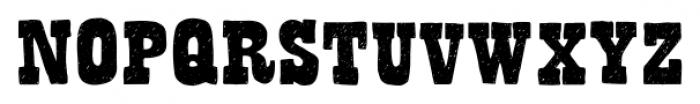 Bandoliers Medium Font UPPERCASE