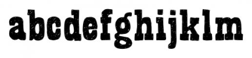 Bandoliers Medium Font LOWERCASE