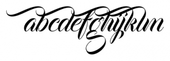 Bandung Regular Font LOWERCASE