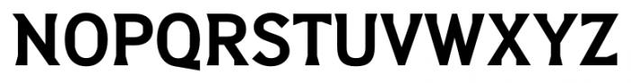 Barbica Bold Font UPPERCASE