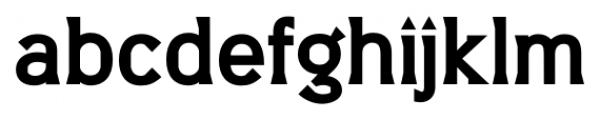 Barbica Bold Font LOWERCASE