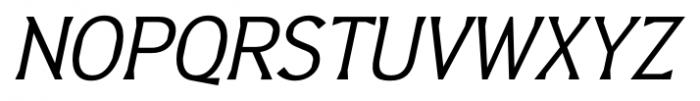 Barbica Italic Font UPPERCASE