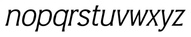 Barbica Italic Font LOWERCASE