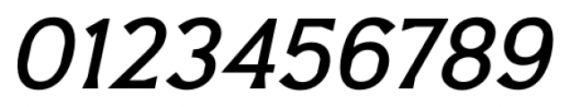 Barbica Medium Italic Font OTHER CHARS