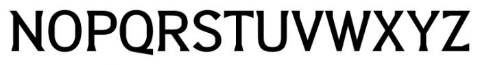 Barbica Medium Font UPPERCASE