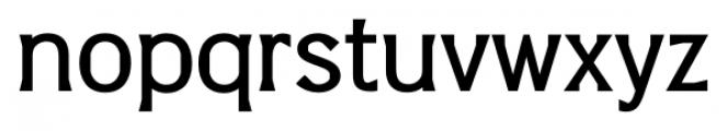 Barbica Medium Font LOWERCASE