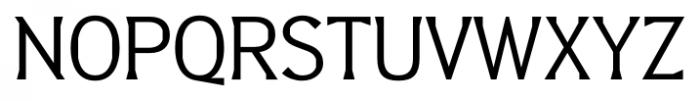 Barbica Regular Font UPPERCASE