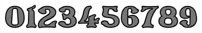 Barollo Shaded Font OTHER CHARS