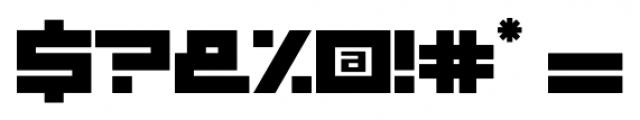 Basica Regular Font OTHER CHARS