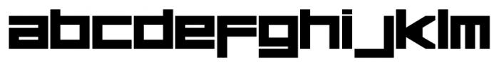 Basica Regular Font LOWERCASE