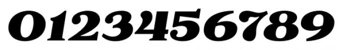 Battlefin Black Italic Font OTHER CHARS