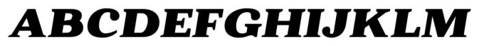 Battlefin Black Italic Font UPPERCASE