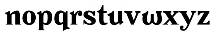 Battlefin Bold Font LOWERCASE