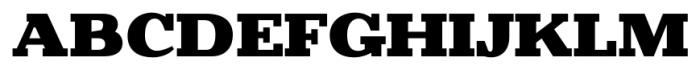 Battleslab Black Font UPPERCASE
