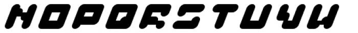 BAJT Rounded Italic Font UPPERCASE