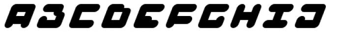 BAJT Rounded Italic Font LOWERCASE