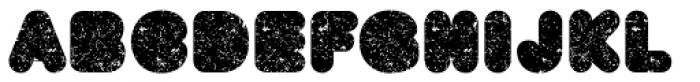 BAQ Metal Font UPPERCASE