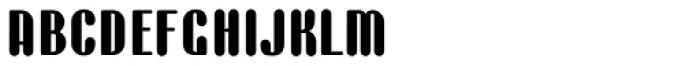 BaBa Rounded Bold Font LOWERCASE