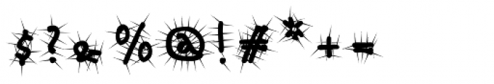Babine Cactus Font OTHER CHARS
