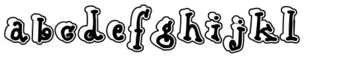 Babine Stroke Font LOWERCASE