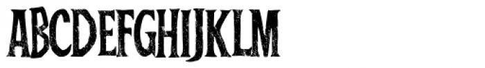 Baboon Pressed B Regular Font UPPERCASE