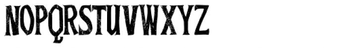 Baboon Pressed B Regular Font LOWERCASE