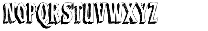Baboon Three Dee Regular Font UPPERCASE