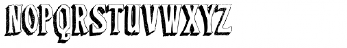 Baboon Three Dee Regular Font LOWERCASE