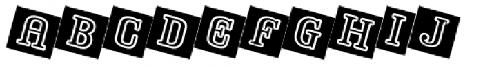 Baby Blox Font LOWERCASE