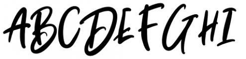 Baby Boomer Regular Font UPPERCASE