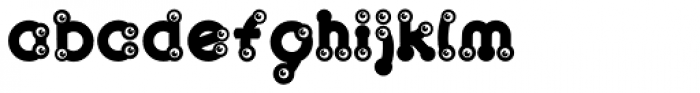 Baby Lyns ABC multilingual Font LOWERCASE